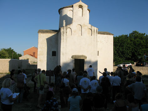 Festival of the Sun and Light in the Church of the Holy Cross