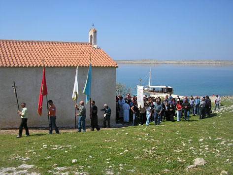 The traditional pilgrimage to Our Lady´s island